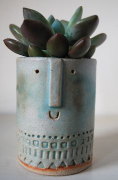 Atelier Stella. Little succulent pot.
