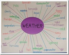 """""""What's The Weather?!"""" weather unit description from The First Grade Parade"""