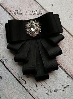 Ribbon Jewelry, Fabric Jewelry, Beaded Jewelry, Diy Hair Bows, Diy Bow, Making Hair Bows, Ribbon Crafts, Ribbon Bows, Diy Accessoires