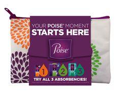 Free Poise Liner Sample Kit!