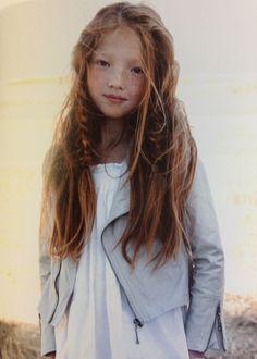 Blonde asian redhead