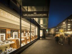 Watch Shopping on the Bahnhofstrasse