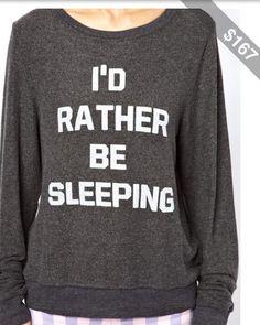 Mhhm(: love this sweatshirt!