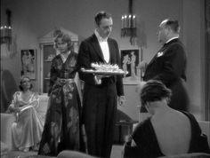 Gail Patrick, Carole Lombard, William Powell, Alice Brady & Eugene Pallette, My Man Godfrey, 1936 (gowns by Edith Head)