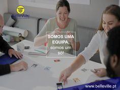Porquê a BelleVille Imobiliária 🤔  Porque somos uma #EQUIPA, trabalhamos #UNIDOS, pelo bem coletivo, acima dos nossos interesses pessoais <3 Também quer fazer parte da nossa equipa? ➡️ http://sos.belleville.pt/recrutamento/ ⬅️
