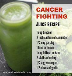 Cancer Fighting Juice Recipe