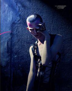 HYPE Magazine Photo&styling: Oliver Rauh leather vest by Konrad Parol LES MERCENAIRES AW2011