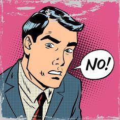 Man says no pop art comics retro style halftone Comic Kunst, Comic Art, Art Prints For Sale, Wall Art Prints, Desenho Pop Art, African Art Paintings, Art Simple, Pop Art Wallpaper, Pop Characters