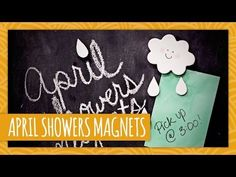 DIY April Showers Magnets - HGTV Handmade
