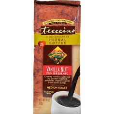 Teeccino Mediterranean Herbal Coffee - Medium Roast - Caffeine Free - Vanilla…