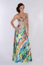 Gorgeous Koo-Ture satin long dress in a myriad of printed colours! Perfect for a Summer wedding or a holiday cruise! Mesh panel on waist is embellished with jewels. Evening Dresses, Prom Dresses, Summer Wedding, Clothes For Women, Printed, Womens Fashion, Skirts, Shopping, Tops