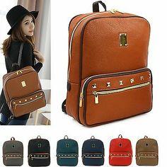 New Women's Bookbag Girls Travel Rucksack School Laptop Bag Satchel Backpack J6 | eBay