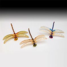 These are, by far, the best beaded dragonflies I've ever seen.