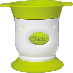 Key Lime Pedestal Velata Fondue Warmer  This lovely warmer is accented by a perfect pop of green.  Warmer price includes 4 forks.  $40.  Purchase at www.bonniebuckhalt.velata.us