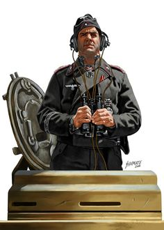 WEHRMACHT - Ufficiale carrista, Divisione Grossdeutschland. En Poteau, Francia, 18 dicembre de 1944. Johnny Shumate Ww2 Uniforms, German Uniforms, Military Uniforms, German Soldiers Ww2, German Army, Military Art, Military History, Luftwaffe, Military Drawings
