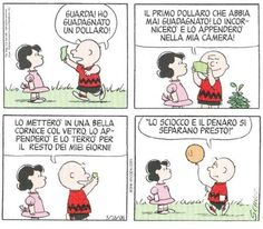 Peanuts, Charlie Brown e Lucy