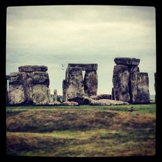 Stone henge - places we've been