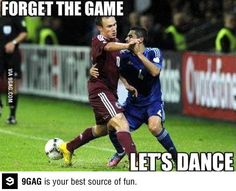 Forget the game and dance