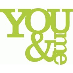 Silhouette Design Store - View Design #36438: you and me title