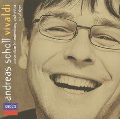 Andreas Scholl - Vivaldi - Sacred arias  - ♥♥♥♥une voix épurée,  sure, puissante et profonde et le génie d'un compositeur! Un concentré d'émotion! ♥♥♥♥