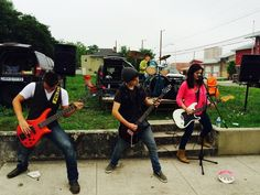 We had some awesome bands keeping our runners motivated along the course! #AdiosBreastCancer