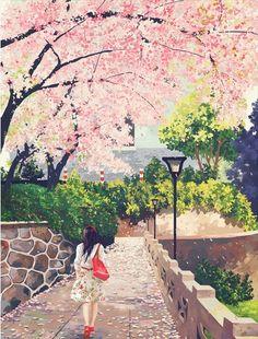 e-shuushuu kawaii and moe anime image board Anime Comics, Kawai Japan, Lovely Girl Image, Love Illustration, Anime Scenery, Anime Art Girl, Aesthetic Art, Cartoon Art, Cute Drawings