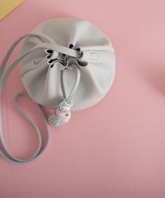 Balloon Mini Hielo detail - Leather Toys  #leather #bag #coldporcelain #handmade