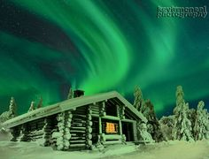 Northern Lights Cold Evening by Kevin McNeal on 500px