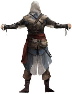 Assassin's Creed IV: Black Flag - Edward Kenway Back Concept