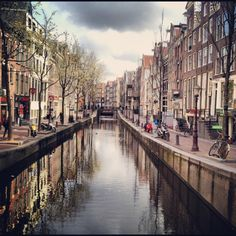 Typical Amsterdam. I want to go back again!