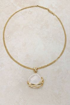 golden katherine pendant