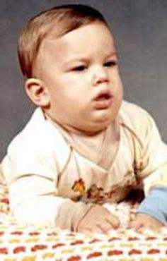 Ashton Kutcher as a baby... Your welcome