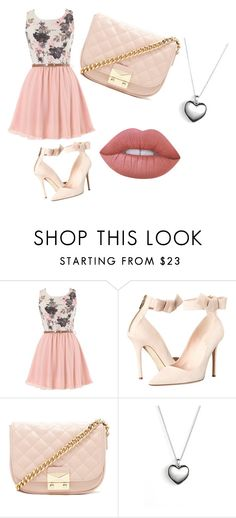 """""""Heloíse♥♡ ♥"""" by gabiesteves ❤ liked on Polyvore featuring Kate Spade, Forever 21, Pandora and Lime Crime"""