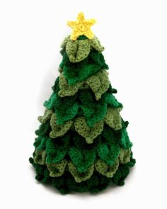 Little Abbee: O' Crochet Christmas Tree! Crochet TUTORIAL ✿⊱╮Teresa Restegui http://www.pinterest.com/teretegui/✿⊱╮