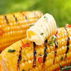 Grilled Spicy Miso Butter Corn