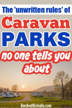 Now don't freak out, there isn't some secret handshake you need to know or bribe that needs to be paid... I'm just talking about those simple camping courtesies that you may not know, especially if you're brand new to camping. Here's our guide on good caravan park etiquette. #caravanparketiquette Small Caravans, Travel Info, Us Travel, Time Travel, Best Caravan, Secret Handshake, Australian Road Trip, Road Trip Planner