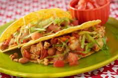 Turkey Tacos- Just 1lb of meat feeds 8 people, with added beans and veggies | Cooking Matters