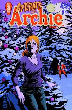 Afterlife with Archie Comics cover by Francesco Francavilla Online Comic Books, Free Comic Books, Comic Book Covers, Archie Comics, Archie's Weird Mysteries, Afterlife With Archie, Archie Jughead, Midtown Comics, Ghost Of Christmas Past