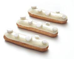 éclair blanc-manger (Gâteaux Thoumieux)