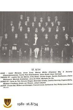1981 - St. 8/34 Hoërskool Wesvalia Movies, Movie Posters, Art, Art Background, Films, Film Poster, Kunst, Cinema, Movie
