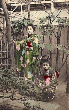 Geisha's, so you thinkyoucansee