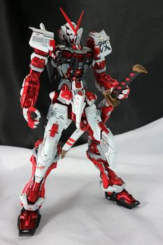 Custom Build: MG 1/100 Gundam Astray Red Frame - Gundam Kits Collection News and Reviews