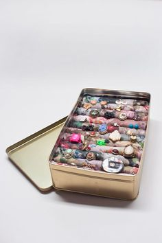 Need more space for your accessories? Kleiderkreisel shows you an easy diy way to get this beautiful jewellery case (Fotos: J. Siebert)