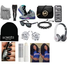 """Bout To Drop My Niece & Nephew Off Home & Go To The Mall With My Girls ~Shayla"" by carol-mindless-swag-143 on Polyvore cheap air jordan 5 only $60, save up to 59% off for all #Nikes #Shoes"