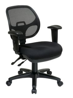 Black Ergonomic Task Chair w/ProGrid Back