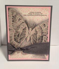 Emboss Resist Butterfly - modified CASE from Robin Merriman