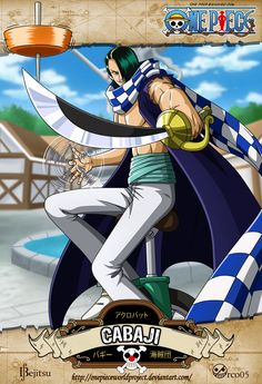 One Piece - Cabaji by OnePieceWorldProject