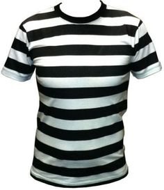 BLACK AND WHITE STRIPE T-SHIRT | Fashion - Men's | Pinterest