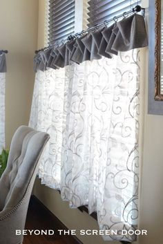 Image result for cafe curtains