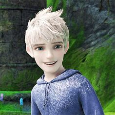 He has a nice set of teeth, too. | Community Post: Why Jack Frost And Elsa Would Make The Cutest Couple